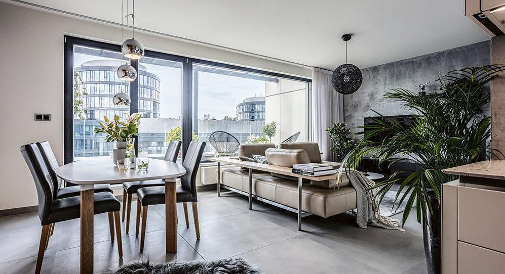 Příjemně působící luxus aneb bydlení pro náročné