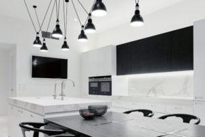 kuchyně v mezonetu