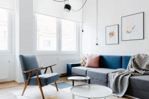 minimalistické zarízení bytu