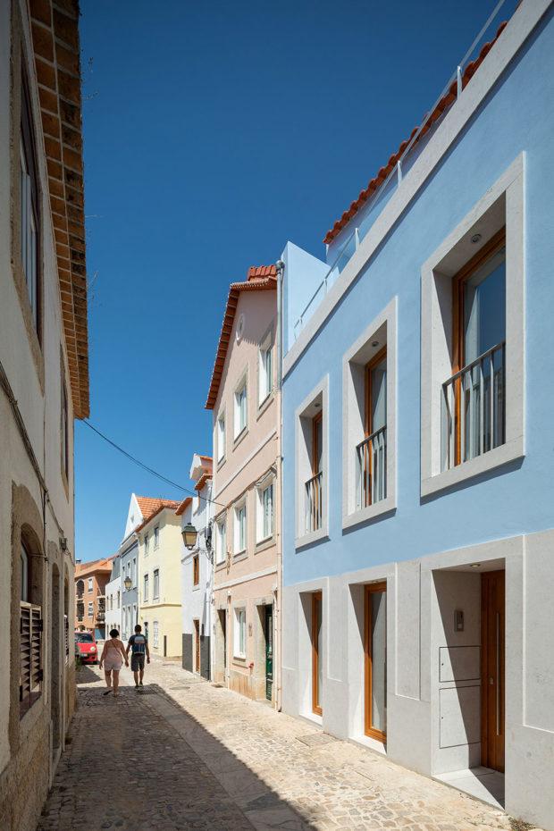 historický dům v Portugalsku