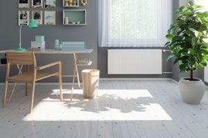 Otopná desková tělesa pro nízkoenergetické stavby