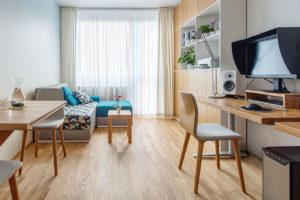 I do malého bytu se může šikovnou rekonstrukcí všechno vejít