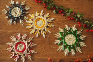 Vánoční ozdoby z přírodních materiálů