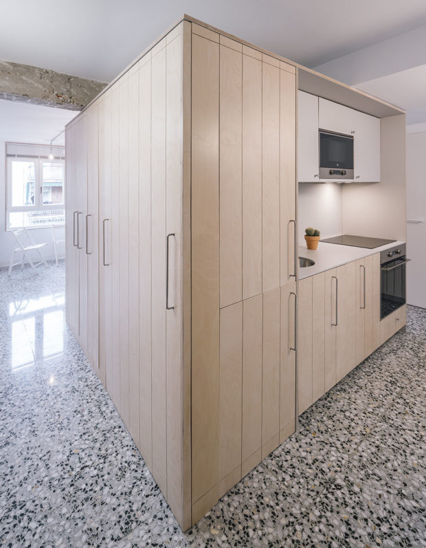 integrovaná kuchyňská linka