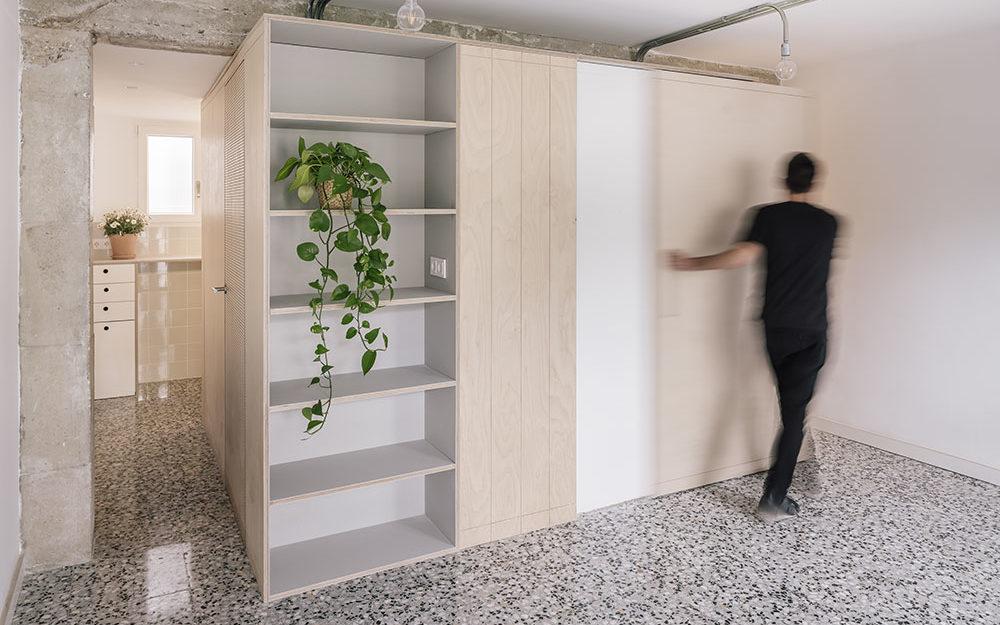 Díky multifunkčnímu modulu vytěžili z malého bytu maximum