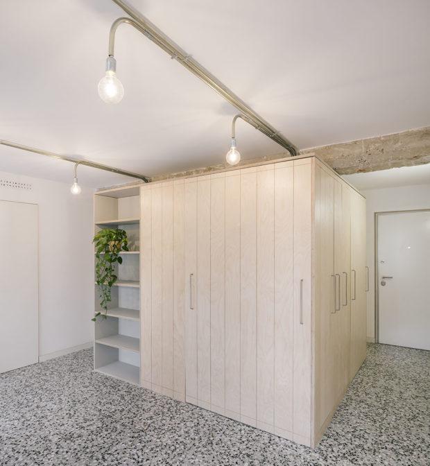 modul s úložným prostorem