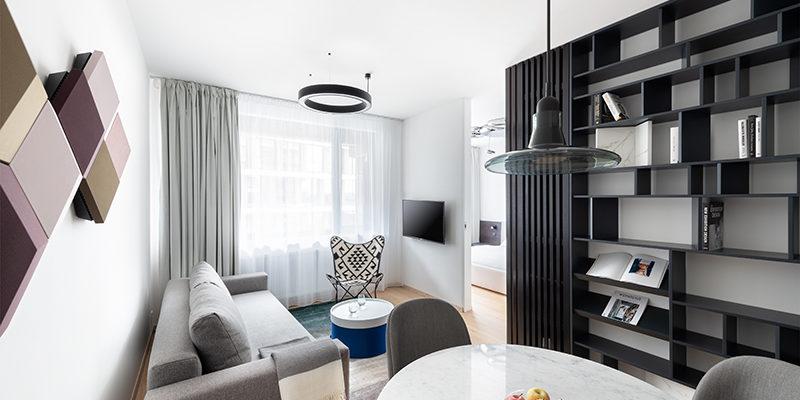 Nadstandardní dvoupokojový byt s výhledem na Dunaj