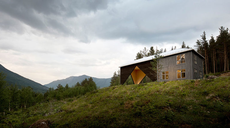 Malý dům s velkým funkčním prostorem