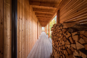drevena terasa