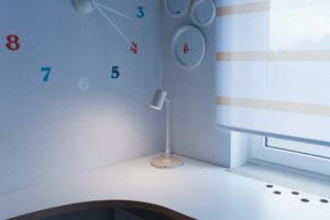 hodiny na zdi
