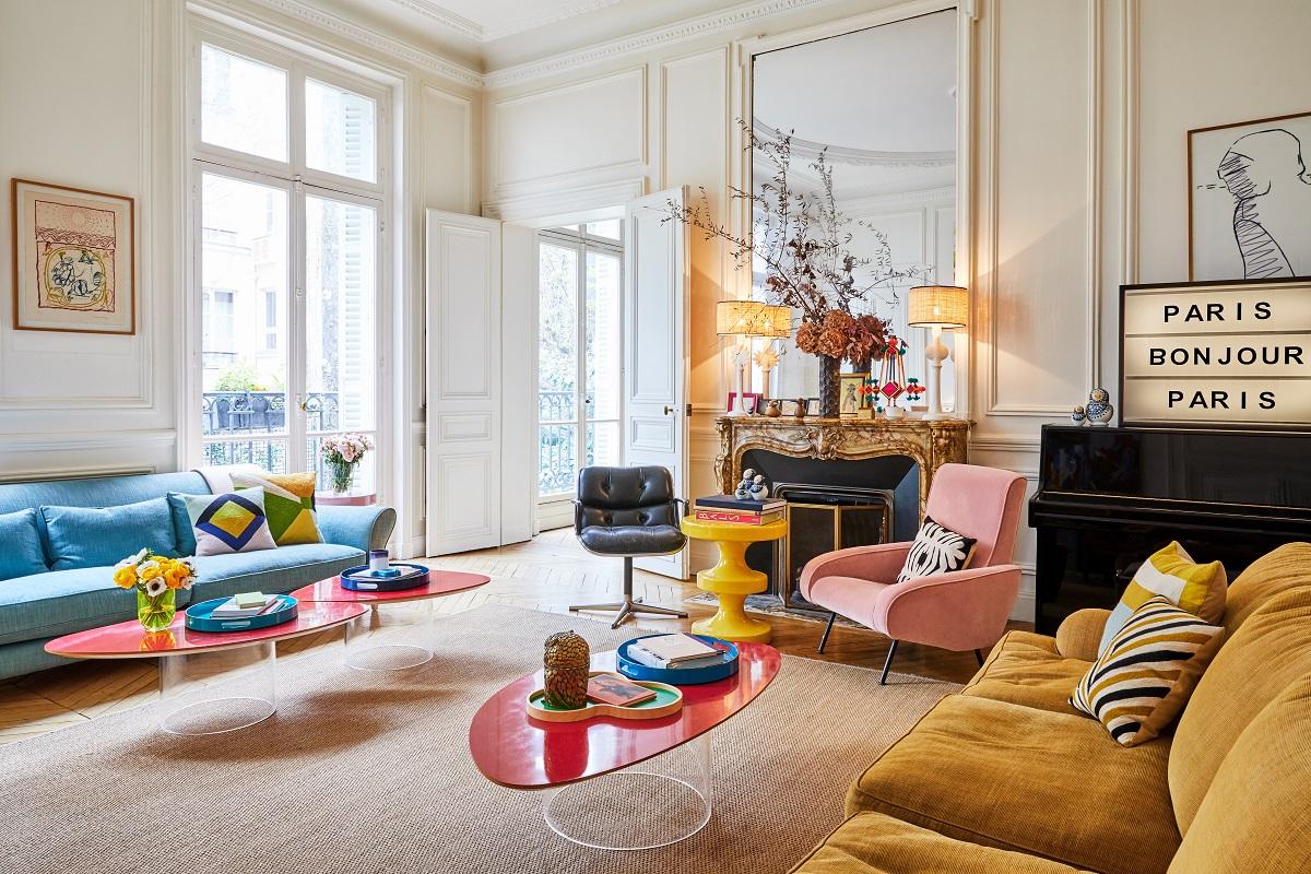Městský byt v Paříži
