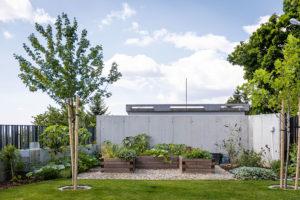 venkovní zahrada