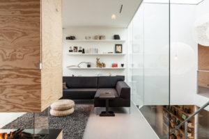 Dýhovaná překližka v interiéru