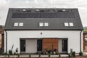Domy vrezidenčním areálu