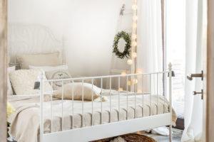romantická detská ložnice