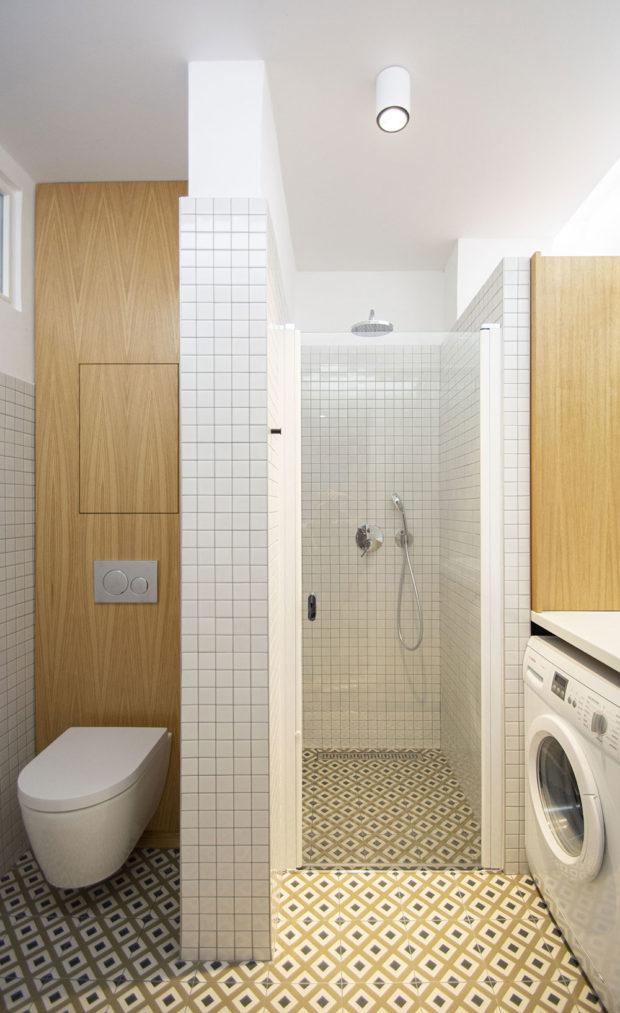rekonstrukce bytu koupelna a WC