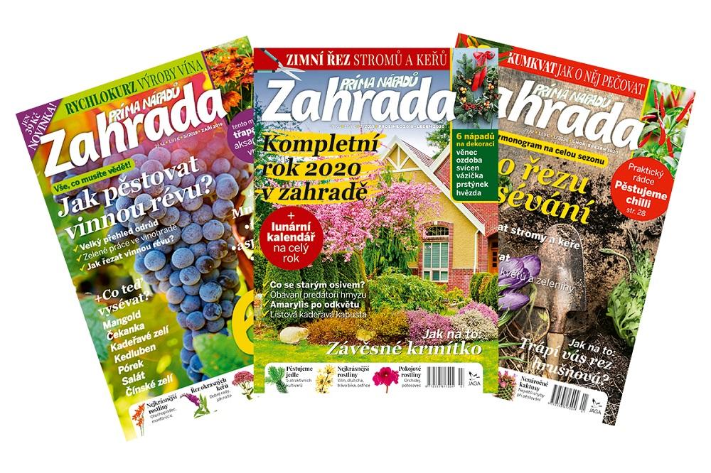 Zahrada prima nápadů z vydavatelství JAGA media