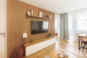 Skandinávský minimalismus v paneláku? Proč ne!