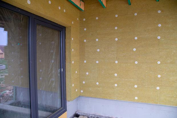 zateplení fasady domu