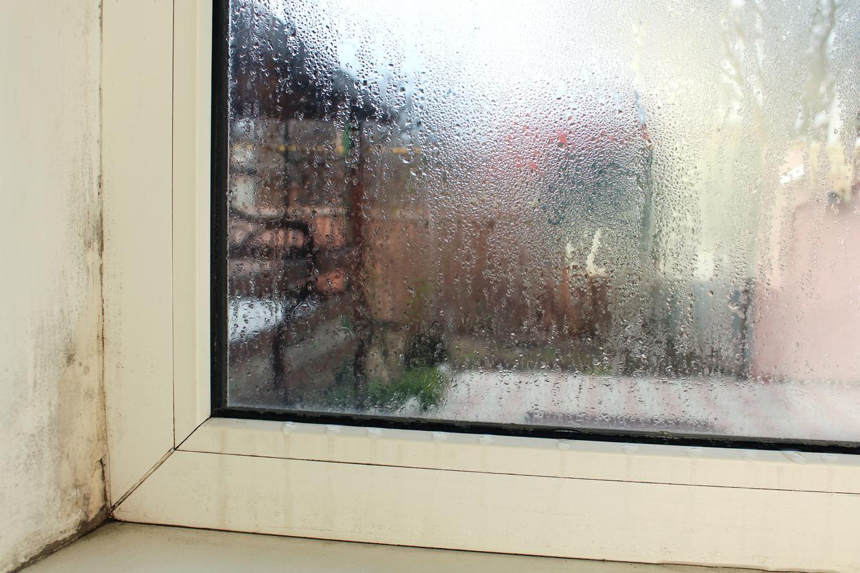 zamlžené okno