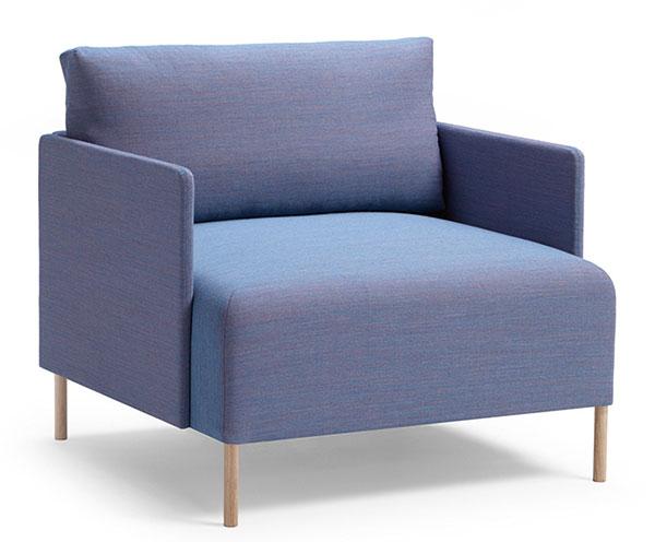Křeslo Blocks (Offecct), design Christophe Pillet