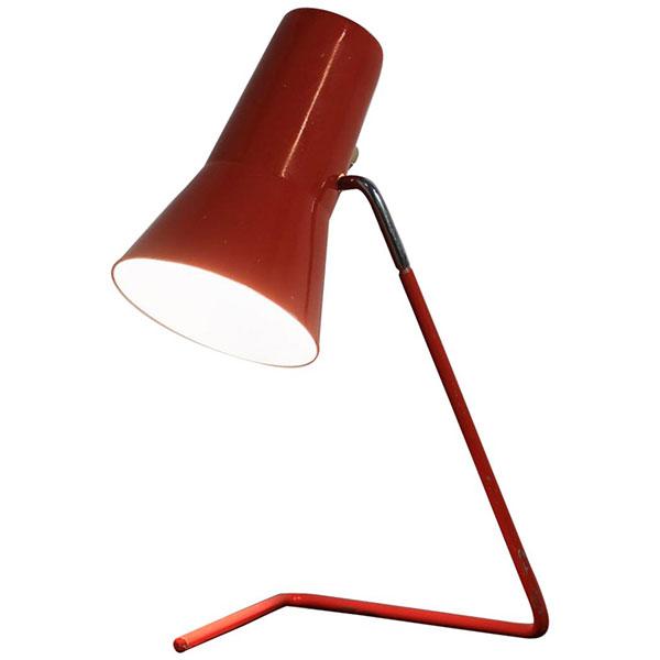 Ta lampa od Josefa Hůrky pro Drupol,