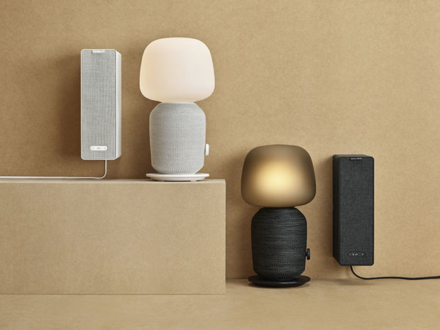 Stolní lampa sreproduktorem wifi Symfonisk