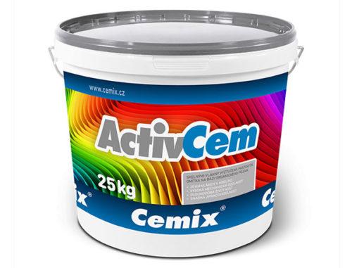enkovrstvá omítka Cemix ActivCem v balení po 25 kg.