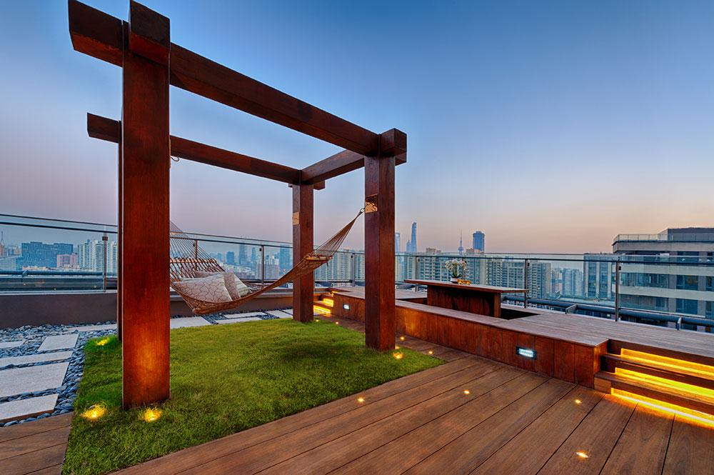 Vegetační střecha může být skvělým místem pro relaxaci. foto ISOVER