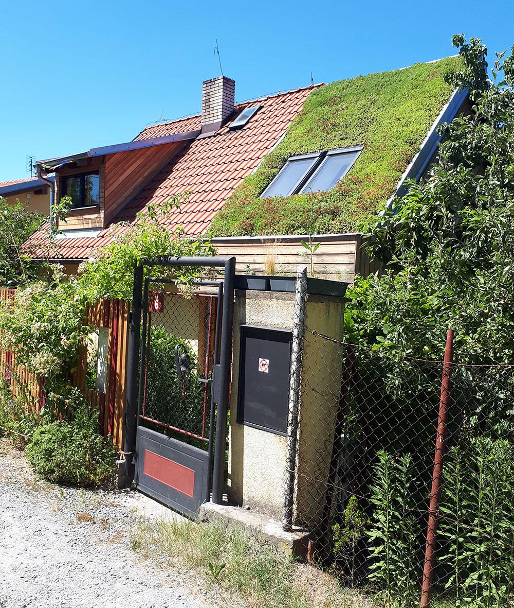 Vítězná vegetační střecha roku 2019, foto ISOVER