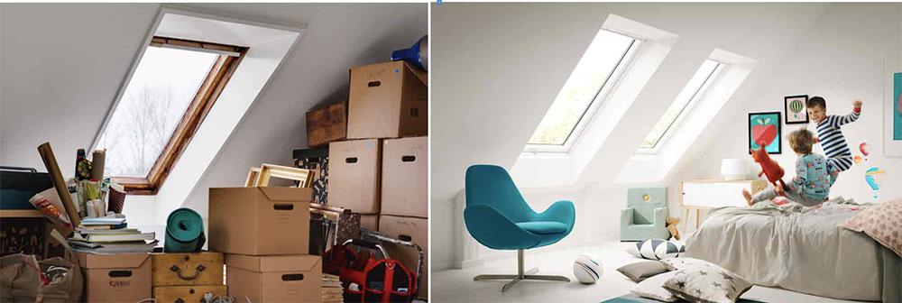 VELUX poskytuje dotaci 1000 Kč za výměnu střešního okna
