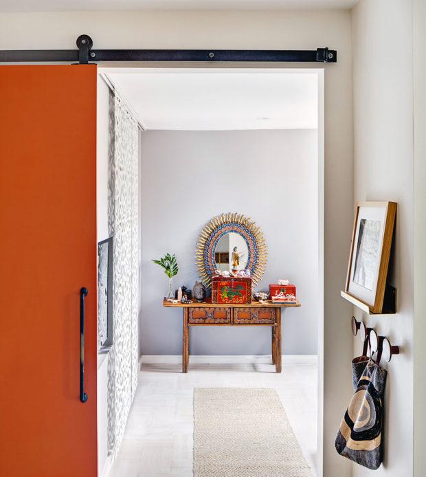 terakotové dveře