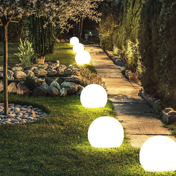 zahradní osvetlení