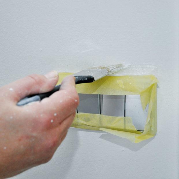 Využití malířské pásky