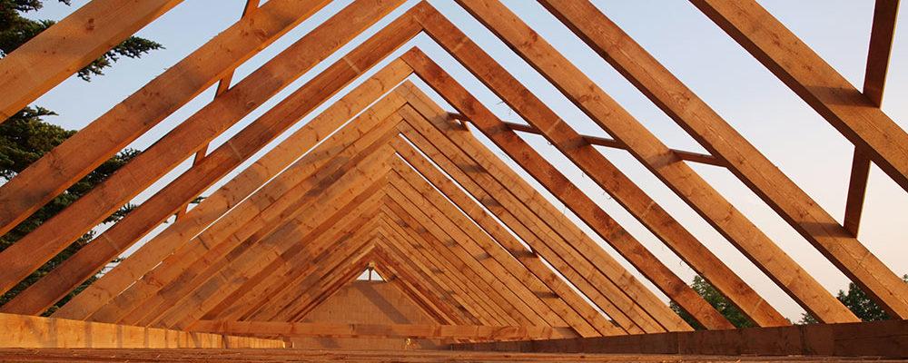 Ošetřené dřevo je základ kvalitní střechy