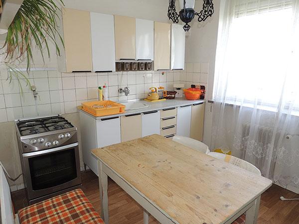 kuchyne před rekonstrukci
