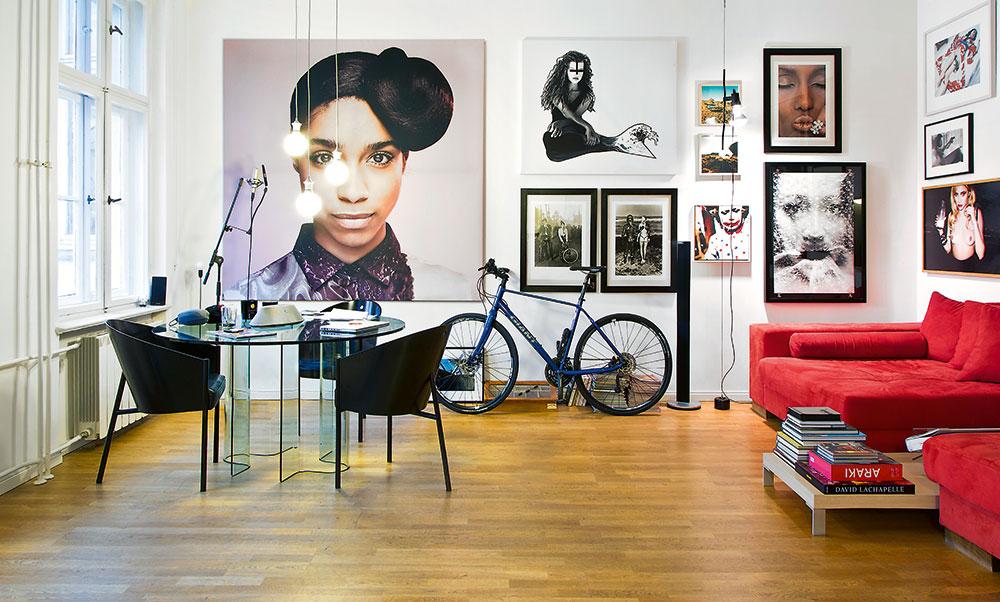 Jaký pán, takový byt: Apartmán plný krásných žen