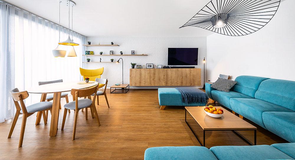 Promyšlená rekonstrukce atriového bytu ve zcela atypické bytovce