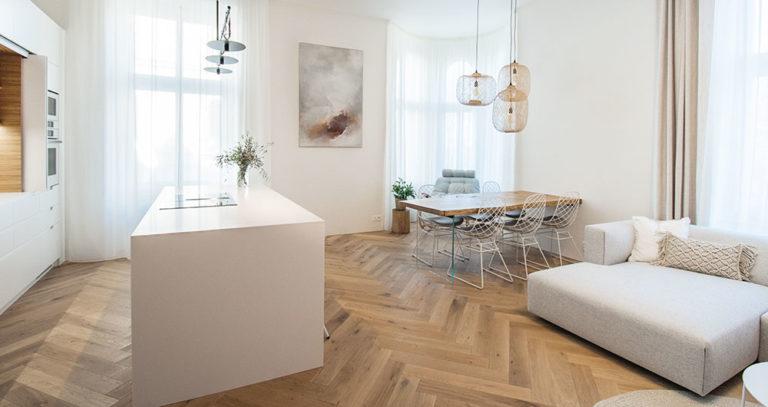 Působivý byt v centru Brna s výhledem do parku