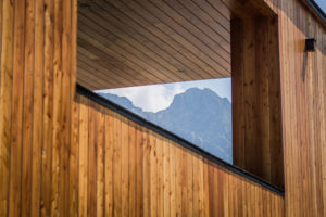 drevena fasada
