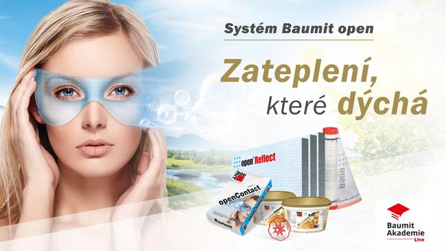 Webinář: Baumit open – Zateplení, které dýchá!