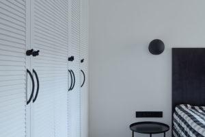 uložné prostory v ložnici