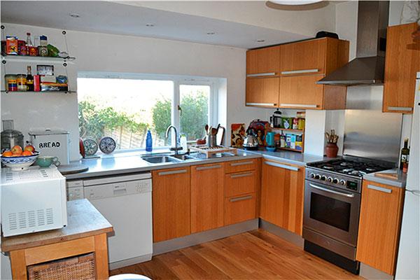 Kuchyň před rekonstrukcí