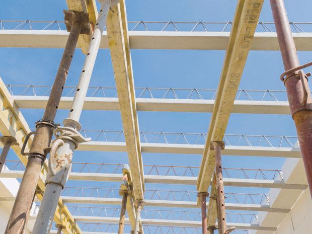 Podpěrná konstrukce - Pórobetonový montovaný strop