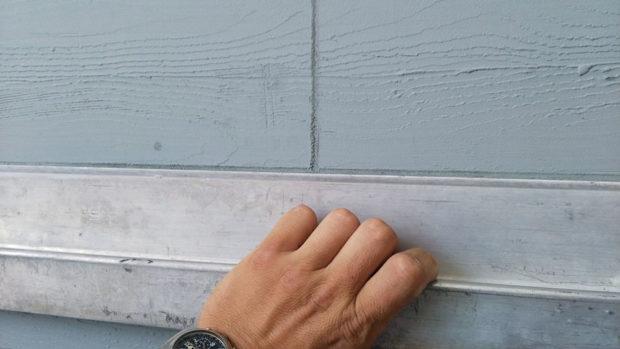 Fasádní omítka se strukturou dřeva