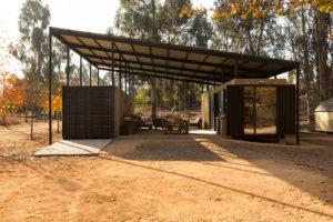 Ekologické bydlení ve flexibilním kontejnerovém domě