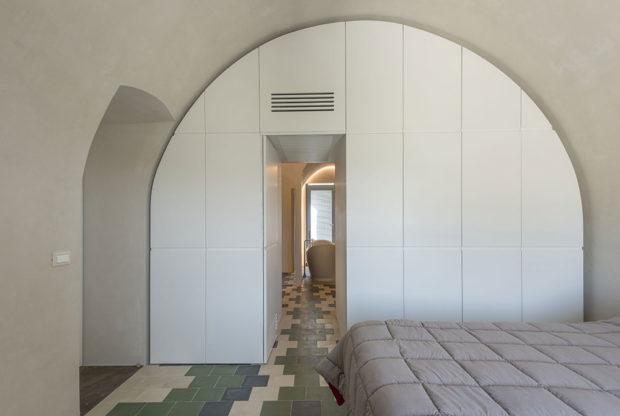 ložnice s klenbou