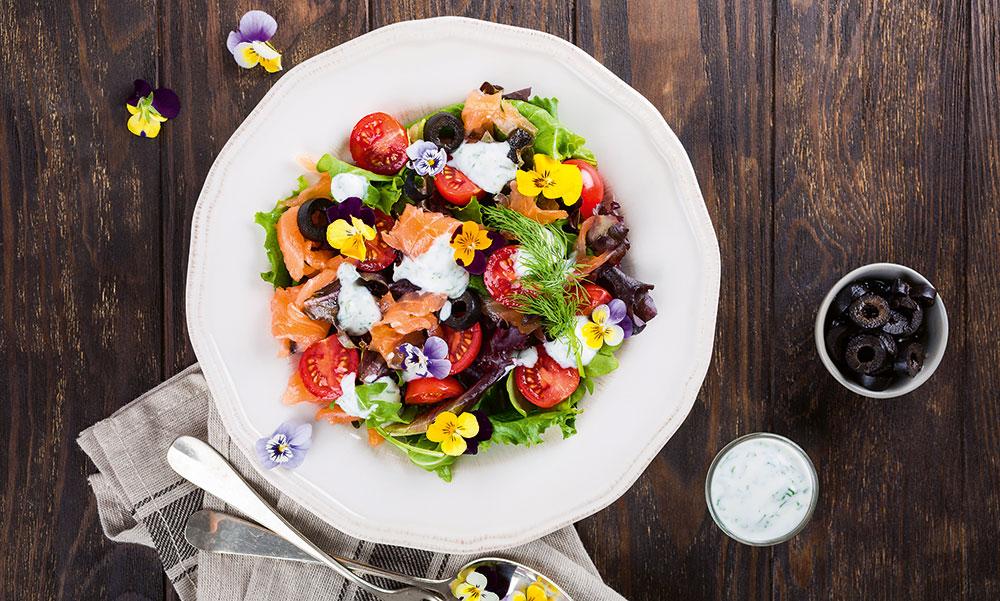 Jedlé květy: Zahrada ke snědení