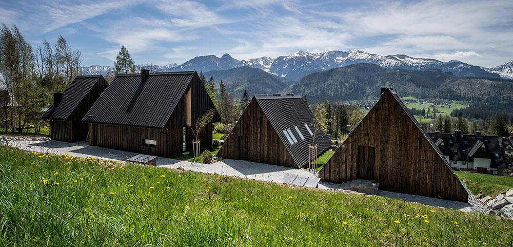 Víkendové bydlení v polských Tatrách s krásným výhledem