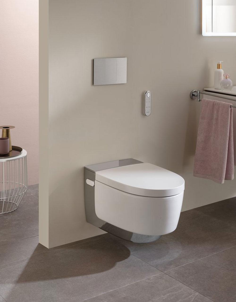 Sprchovací WC Geberit AquaClean Mera